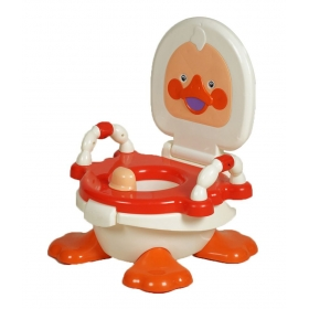Panda Red Trainer Duck Potty Seat