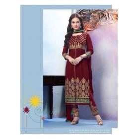 Elegant Cambric Cotton Office Wear Salwar Kameez