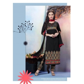 Elegant Cambric Cotton Office Wear Salwar Kameez