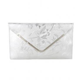 Silver Fabric Envelope