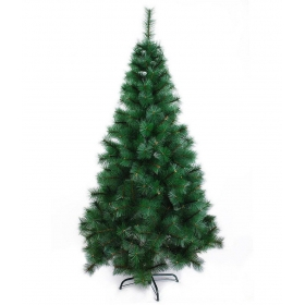 Partyhut Plastic Christmas Tree Green- 5 Ft-(pack Of 1)