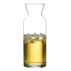 Clear Glass Village Caraffe Decanter