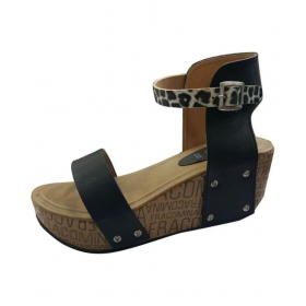 Black Platforms Ethnic Footwear