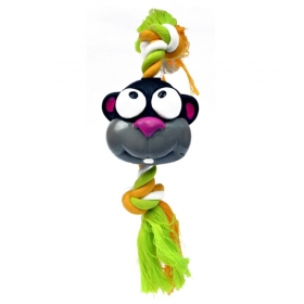 Monkey Face Pets Rope Toy