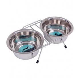 Pets Silver Dog Feeding Bowl