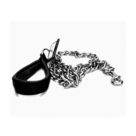 Dog Handle With Chain Leash 4.0 Mm X 48