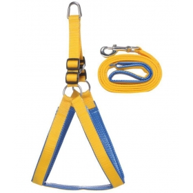 Yellow Harness/leash Large