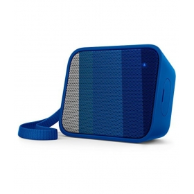 Philips Bt110a/00 Splash-proof Wireless Portable Bluetooth Speaker (blue)