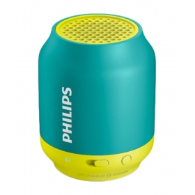 Philips Bt50a/00 Wireless Portable Speaker - Green & Yellow