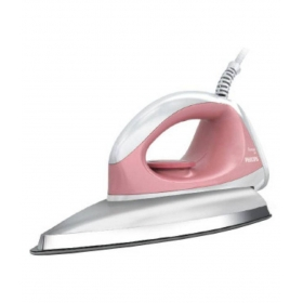 Philips Gc 102/01 Dry Iron Pink And White