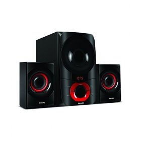 Philips Thunder In-mms6060f 2.1 Multimedia Speakers - Black