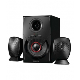 Philips Mms2020f/94 2.1 Speaker System Black