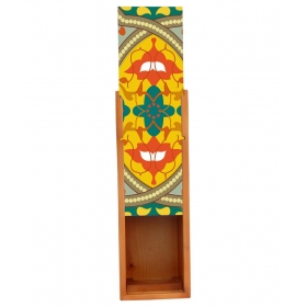 Multicolour Wooden Wine Holder