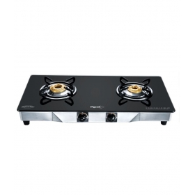 Pigeon Black Line Square 2 Burner Ss Gas Stove