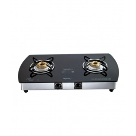 Pigeon Gas Stove Blackline 2 Burner Oval - Auto