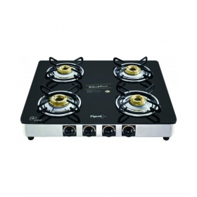 Pigeon Gas Stove Blackline 4 Burner Square - Manual