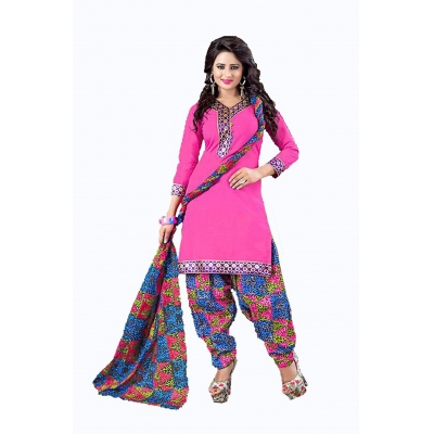 Nexus Patiyala Cotton Dress Material
