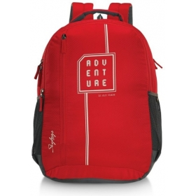 Skybags Pixel 01 31 L Backpack (red)