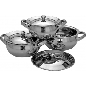 3 Pc Sb Handi Set - Mirror Polish