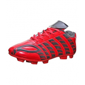 Port Aster Red Football Shoes