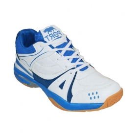 Port Humsafar White Basketball Shoes