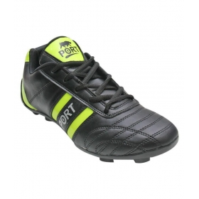 Port Livurstud Black Football Shoes