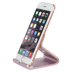 Universal Mobile Phone Stand For Iphone , Ipad , Ipod With Docker Stand (rose Gold)
