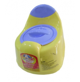 Vinayaka Potty With Lid (nayasa) Yellow- 3 To 24 Months- Small Potty- 1 Potty Seat