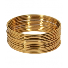 Golden Bangle Set
