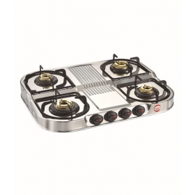 Prestige Royale Dgs 04 Stainless Steel Gas Stoves