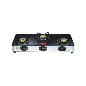 Prestige Glass Top - 03 L(ss) Gas Stove