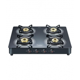 Prestige Gt 03 4 Burner Glass Manual Gas Stove