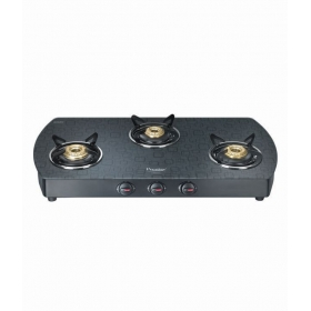 Prestige Premia Gts 03 L (d) Glass Top Gas Stove