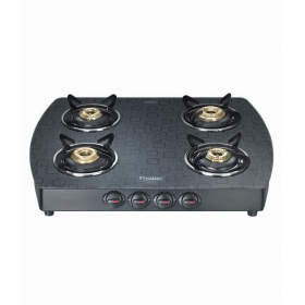 Prestige Premia Gts 04 (d) Glass Top Gas Stoves