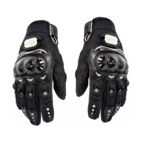 Biking Full Gloves Black Colour