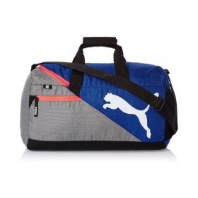 Puma Blue And Grey Travel Duffle Bag