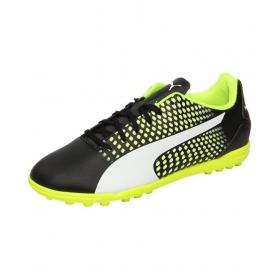 Puma Men's Adreno Iii Tt Black Football Shoes