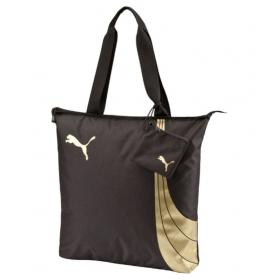 Puma Polyester Brown Shopping Bag