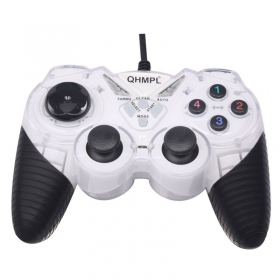 Quantum 7487-2v-c Usb Game Pad With Shock Function