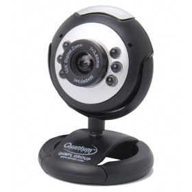 Qhm495lm 25 Mp Webcam Extra Clear Night Vision And In-built Microphone