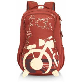 Skybags Raider 03 Rust 26 L Backpack (rust)