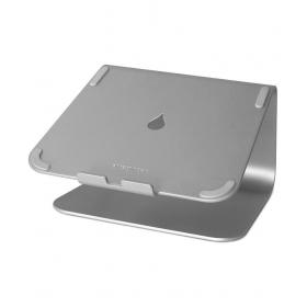 Silver Laptop Stand