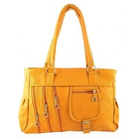 Raju Purse Yellow Fabric Shoulder Bag