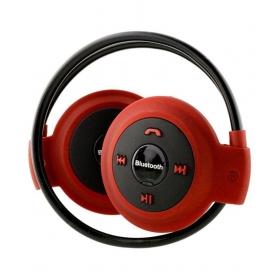 Rasu Mini503sp1753 Design For Iball Fab15c Mobile Wireless Bluetooth Headphone Red