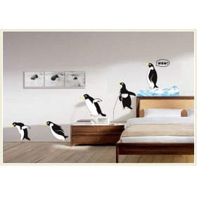 Ay1936 Penguin Nature Wall Sticker  Jaamso Royals