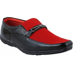 Corporate Casuals Shoes (red)