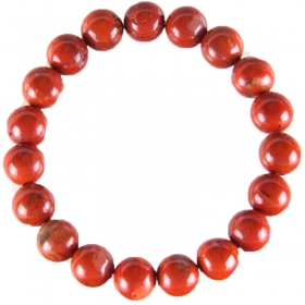 Excel Beads Rhodium Plating Crystal Studded Red Coloured Bracelet