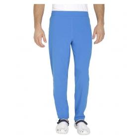 Reebok Blue Polyester Lycra Trackpant