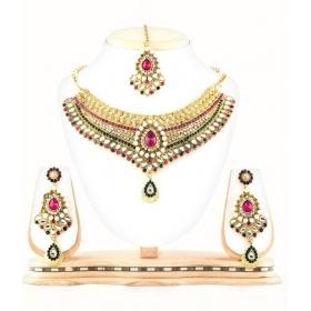 Jewellery Multicolour Designer Necklace Set