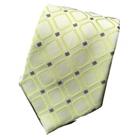 Regali Collections Green Dots Silk Necktie